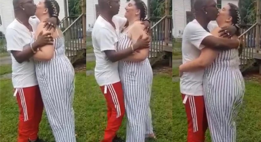 Nana Tornado Reportedly Quits Being Gay As He Is Spotted Kissing Older White Woman In Latest Video