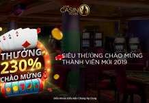khuyến mãi chào mừng live casino house