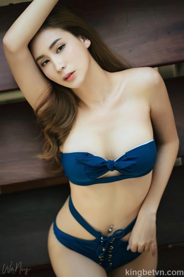 ảnh Girl Xinh Mặc Bikini Hai Mảnh