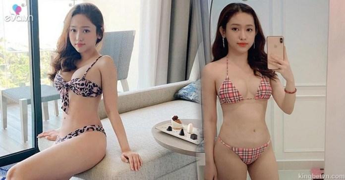 lộ clip hot girl thúy vy mặc bikini sexy khoe ngực khủng