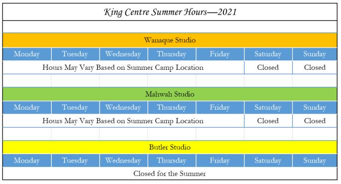 Summer Hours - Website