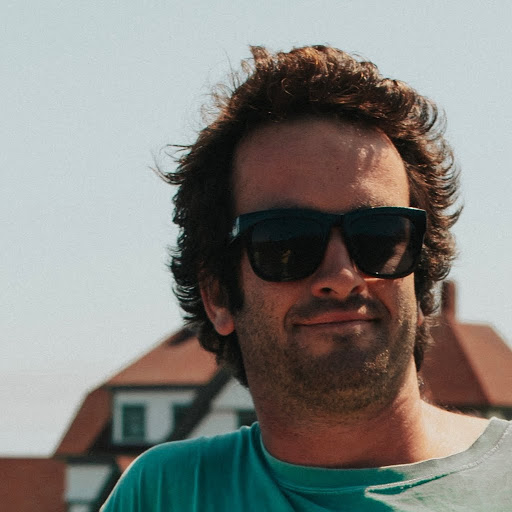 founder headshot wearing sunglasses with handsome stubble i mean geez how is this guy still single?