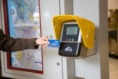 Just tap and go with your ORCA card.
