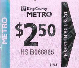 Metro HS Ticket