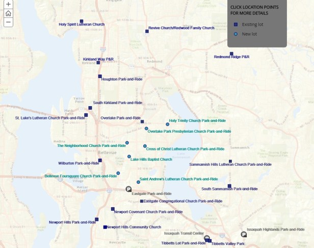 ST Park_and_Ride map