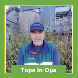 David Barklind, December 2020 Operator of the Month--East Base