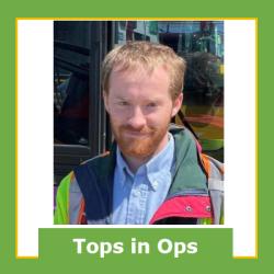 Alexander Burns, May Operator of the Month, Atlantic Base