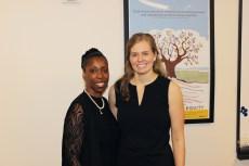 Lead Bridge facilitators Debra Baker and Maggie Chumbley.
