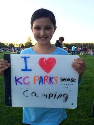 because camping.