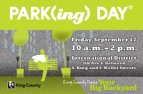 PARK(ing) Day with King County Parks