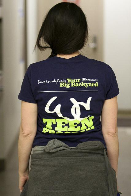 White Center Teen Program Staff Tee