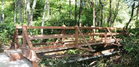 Lakewood Park bridge