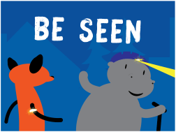 KC Trail Safety - Be Seen