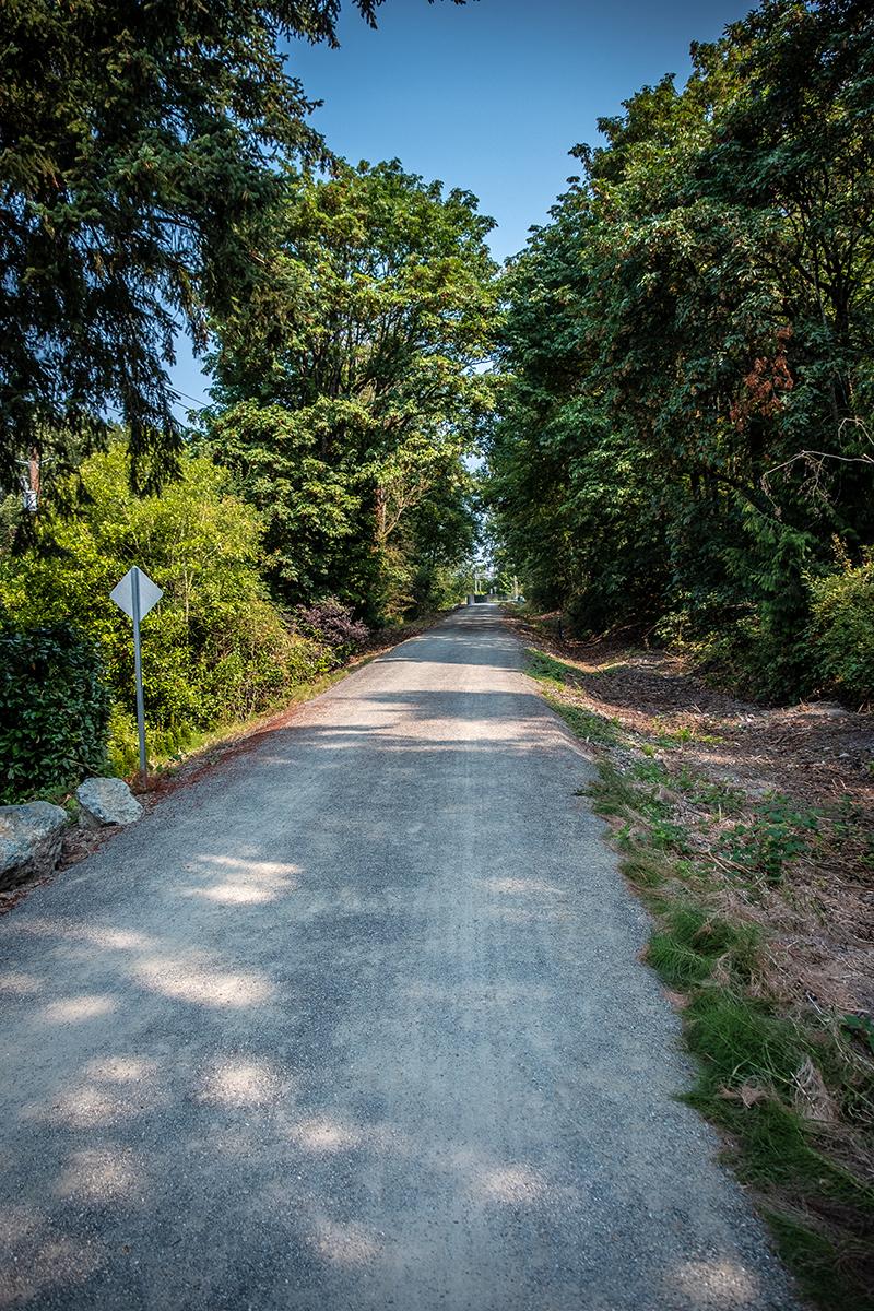 Interim Trail on the Eastside Rail Corridor
