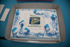 Birthday cake for West Point Treatment Plant's 50 years of award winning wastewater treatment!