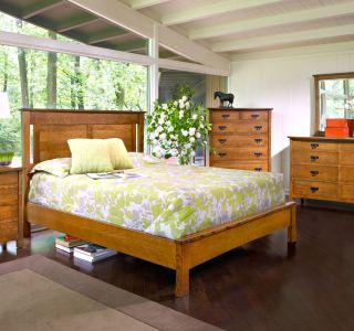 American Review Bedroom Set