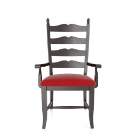 Country Ladderback Arm Chair