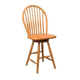 Eight Spindle Bar Stool