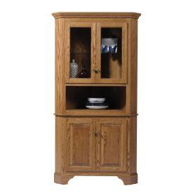 Americana Large Corner Cabinet