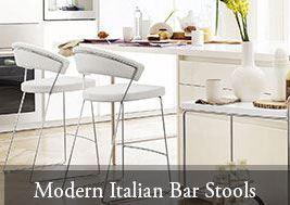 Modern Italian Bar Stools King Dinettes Custom Dining