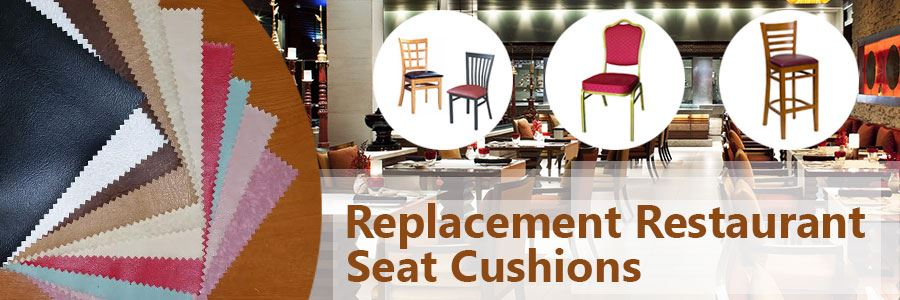 Restaurant Replacement Seat Cushions