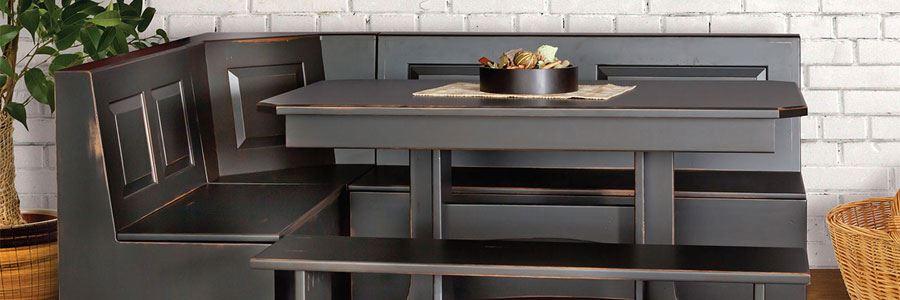 Custom Corner Bench Nooks