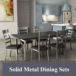 Solid Metal Dining Sets