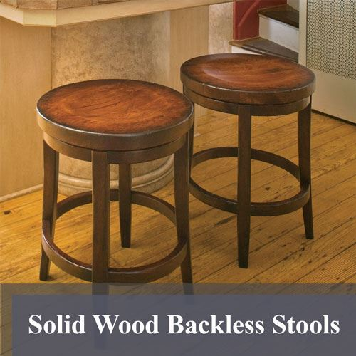Solid Wood Bar Stools King Dinettes Custom Dining