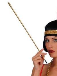 GOLD EXTENDABLE CIGARETTE HOLDER 1920S FLAPPER LADIES ...