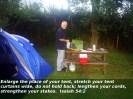 Camping away from Lifeway