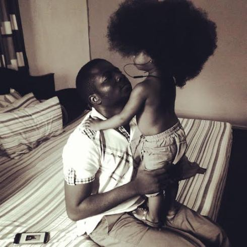 Photos: Jeremiah Gyang's Daughter's Hair Is Gorgeous!