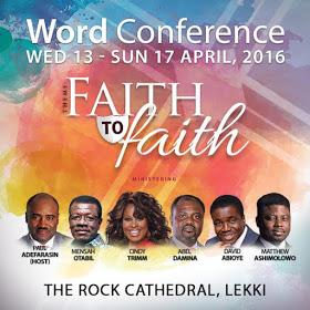 House On The Rock's Word Conference 2016, Faith To Faith