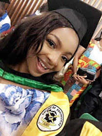 Beauty And Brain! Young Nigerian lady Graduates With First Class In Petroleum Engineering