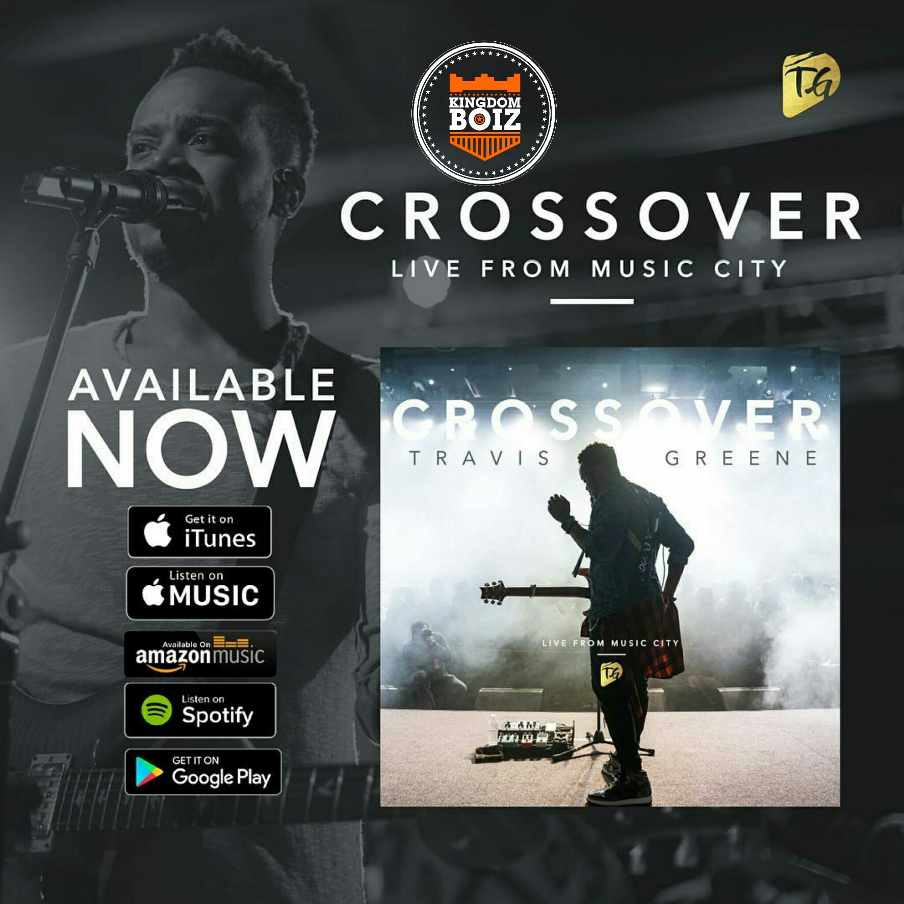 """Travis Greene Releases New Album """"Crossover; Live From Music City"""""""