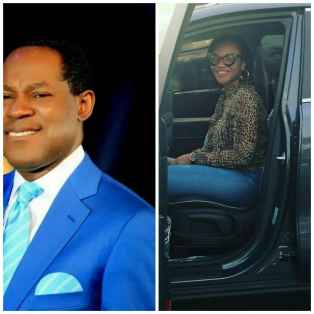 Image result for Pastor Chris Oyakhilome gifts gospel singer, Ada Ehi brand new 2017 SUV