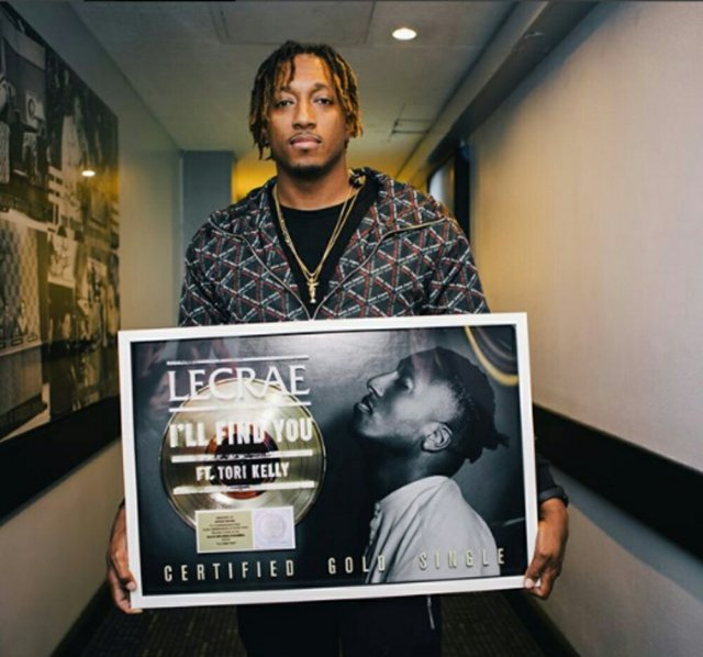 Lecrae And Tori Kelly's 'I'll Find You' Earns Gold