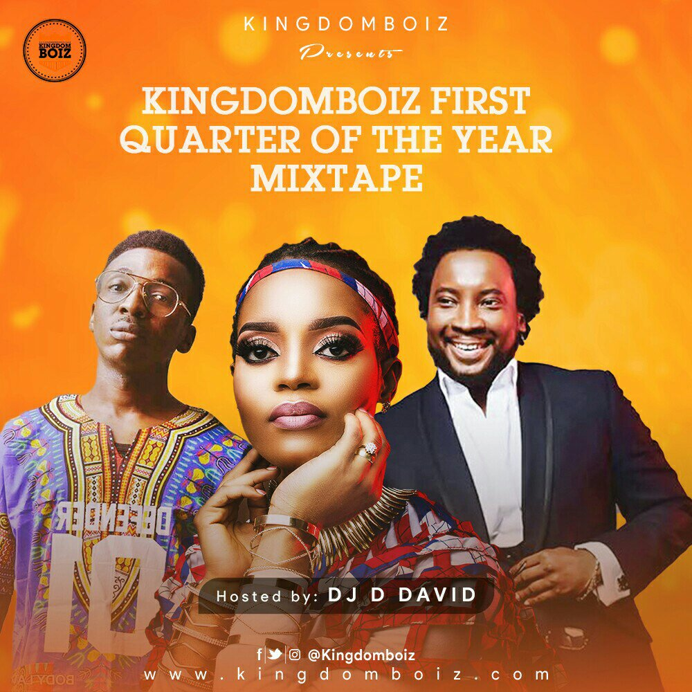 Kingdomboiz Releases First Quarter Mixtape, Hosted By D.J D. David