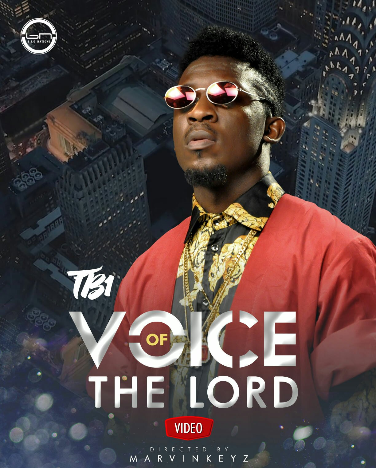 MUSIC Video: TB1  –  Voice Of The Lord (Official Video)