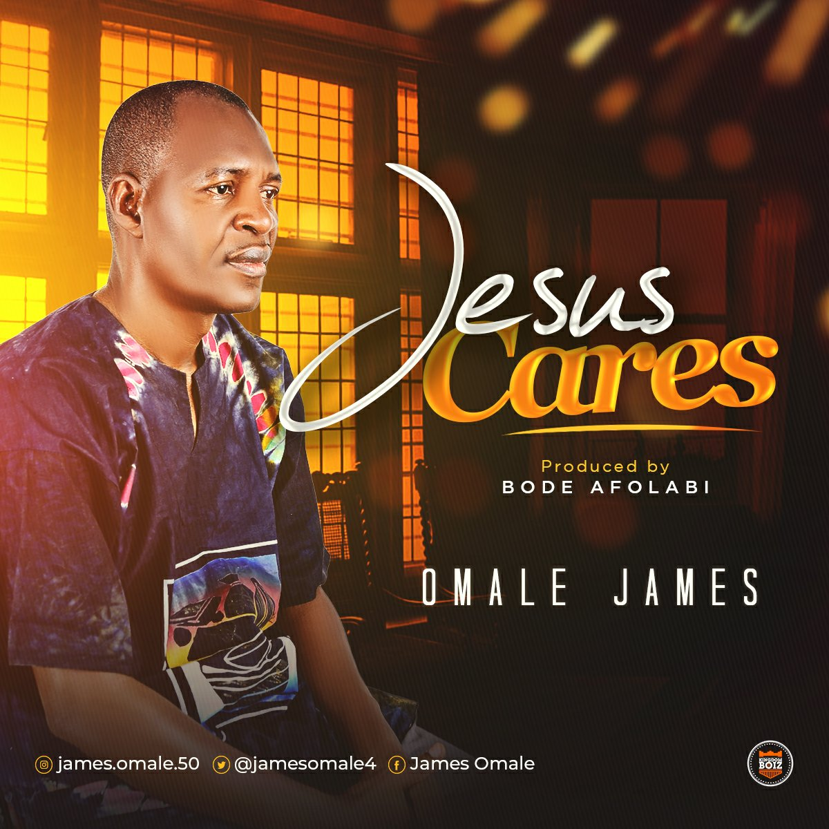 DOWNLOAD Music: Omale  James – Jesus Cares (Prod. By Bode Afolabi)
