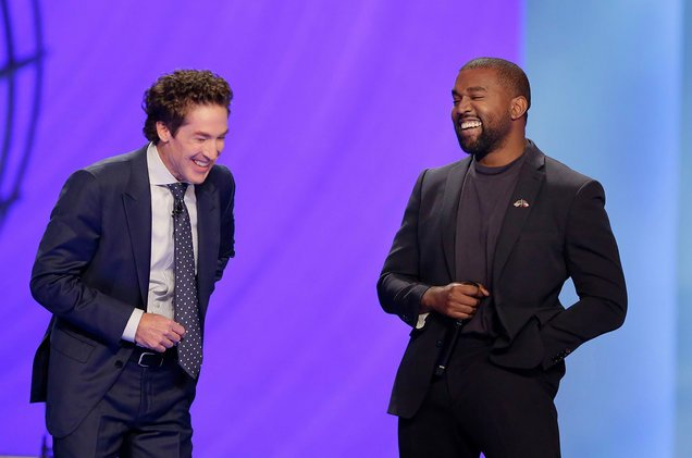 The Only Superstar is Jesus': Kanye West Speaks at Joel Osteen's Lakewood Church
