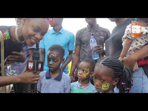 Kingdomboiz Tv On The Street Of Lagos; Ikeja City Mall On Christmas