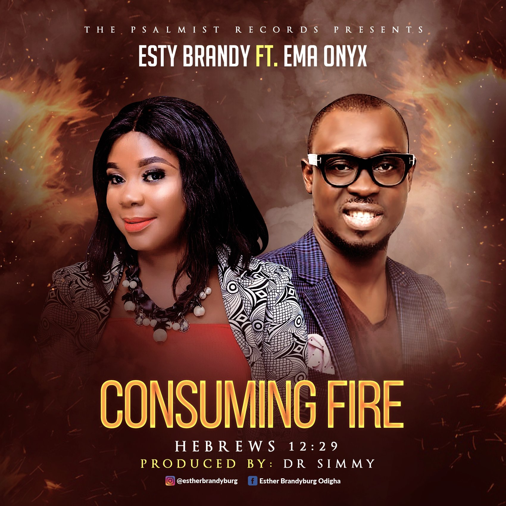 DOWNLOAD Music: Esther Brandyburg – Consuming Fire (ft. Ema Onyx)