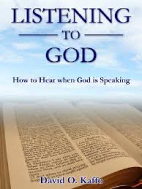 Book cover_Listening to God by David Kaffo