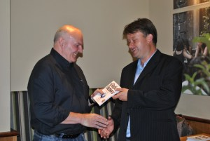 The official book launch in August 2012