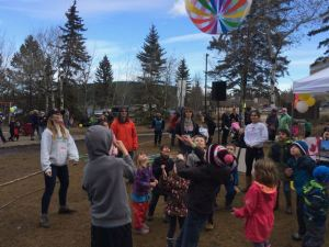 The Easter Festival happened just days after the snow melted