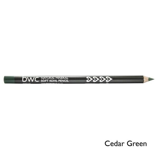 Beauty Without Cruelty kohl pencil cedar green