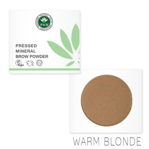 PHB Ethical Beauty brow powder warm blonde