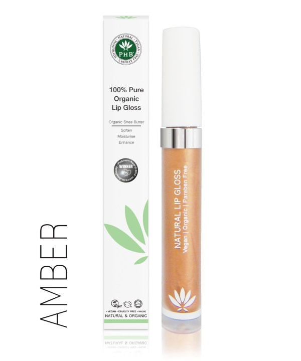PHB Ethical Beauty lipgloss amber