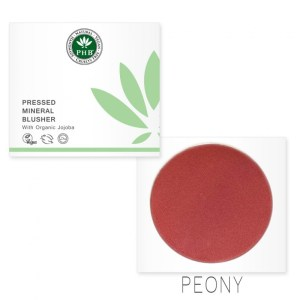 PHB Ethical Beauty mineral blusher peony