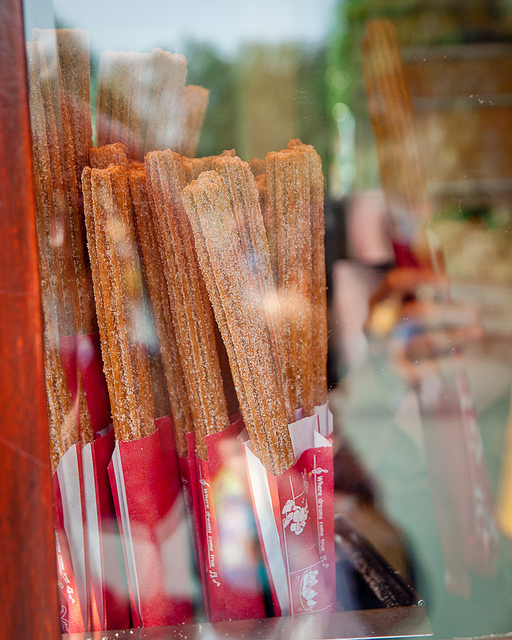 Disney Churro with Chocolate Dipping Sauce Recipe